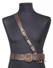 Soviet officer's belt with cross strap, surplus