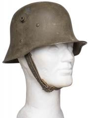Finnish Austro-Hungarian M17 steel helmet, surplus