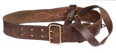 Finnish officer's belt with cross-strap #1