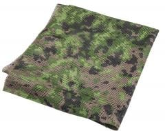 Foxa PES Net 260 Camo Mesh Fabric, M05 Woodland, by the meter.