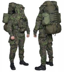 Särmä TST DP10 Roll-Top daypack. The DP10 is sized to function as a daypack lid on larger rucksacks.