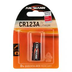 Ansmann CR123A Lithium battery