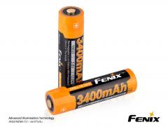 Fenix ARB-L18 18650 3400 mAh button-top battery