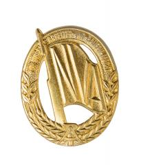 NVA sports qualification badge, gold
