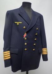 Finnish pea coat with Kriegsmarine insignia
