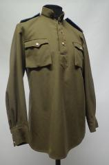 Soviet M43 Gimnasterka shirt, repro, used
