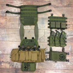 "Särmä TST PC18 Plate Carrier. The PC18 is compatible with numerous ""swiftclip"" chest rigs and placards."