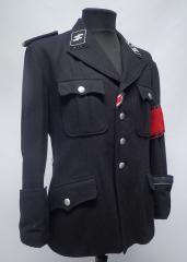 SS Allgemeine officer's tunic, repro, used