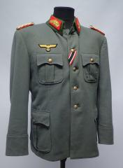 Wehrmacht officer's tunic, Generalmajor, repro, used