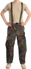 BW Gore-Tex trousers, Flecktarn, surplus