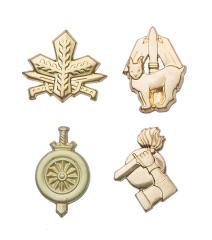 Finnish branch insignia, metal, surplus