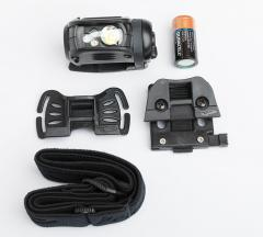 Princeton Tec Remix Pro MPLS headlamp. Battery and adapters included