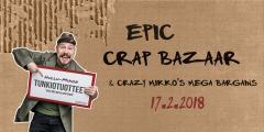 Epic Crap Bazaar and Crazy Mikko's Mega Bargains