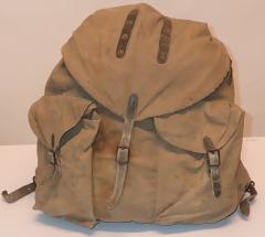 "Finnish ""sipulisäkki"" backpack, WW2 type #4"