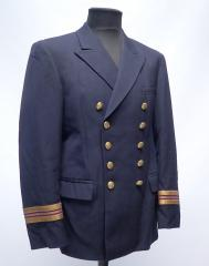 Finnish navy pea coat, surplus