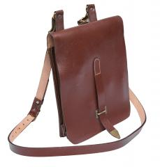 NVA map case, leather, surplus