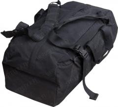 Dutch duffel bag, 75 l, black, surplus