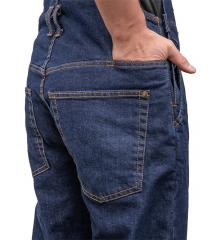 Särmä Denim Overalls. A hidden seam pocket.