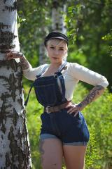 Särmä Denim Overalls. With some easy DIY modifications, these are the perfect summerwear!