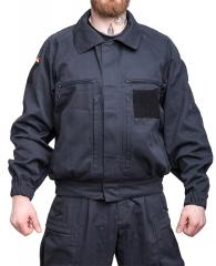 BW military police combat jacket, black, surplus