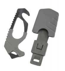 Gerber Strap Cutter, surplus. Comes with a sheath with MALICE-style attachment.
