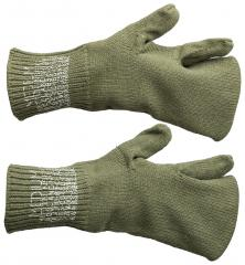 US M-1943 Mitten Liners, Wool, Surplus