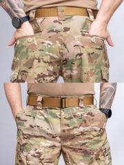 Propper FR Combat Ensemble Pants, Multicam, surplus. You'll find a lot of pockets from these.
