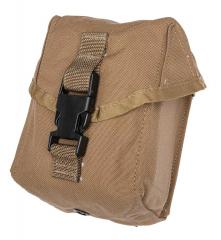USMC MOLLE 100 round ammo pouch, Coyote Brown, surplus