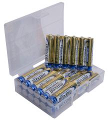 Maxell Alkaline battery, 24 pcs case