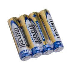 Maxell Alkaline battery, 4 pcs, shrink-wrapped