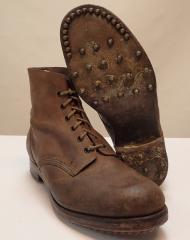 British RAF ankle boots, WW2 era
