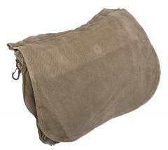 Turkish breadbag, olive green, surplus