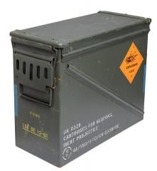 US ammunition box, 30 mm, surplus