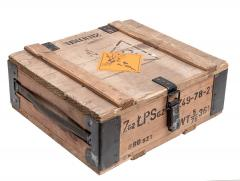 Polish wooden ammo crate, 7,62 mm, surplus