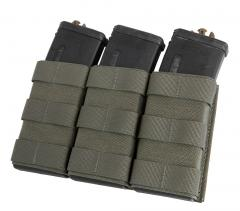 Esstac Daeodon Front Panel Pouches, Triple 556