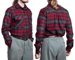 Särmä Wool Flannel Shirt. Also good with vintage trousers and such!