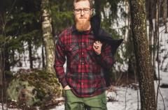 Särmä Wool Flannel Shirt.