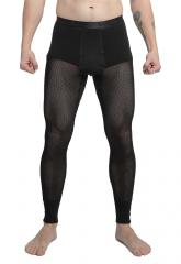 Svala 100% Dry Stretch Mesh Long Johns, black
