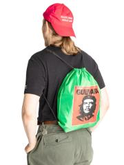 Cha Guevara drawstring bag, surplus. This bag might be a red cloth for some. To play it safe, balance your appearance with mixed signals!