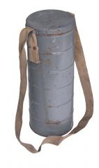 Belgian L.702 gas mask canister, surplus.
