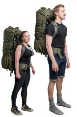 Särmä TST RP80 recon pack. Adjustable for 160-200 cm tall users.