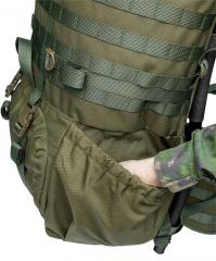 Särmä TST RP80 recon pack. Large side pouches with strong in-built elastic.