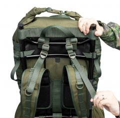 Särmä TST RP80 recon pack. Shoulder harness load lifters.