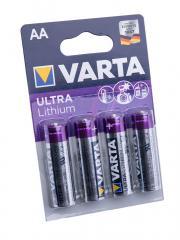 Varta Ultra Lithium battery, 4-pack