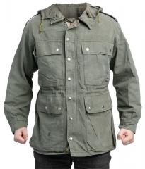Swiss mountain jacket, olive drab, surplus