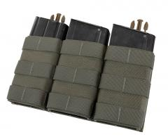 Esstac Daeodon Front Panel Pouches, Triple 762