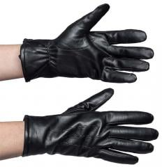 Mutka Sheepskin Gloves, Black