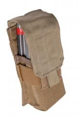 Eagle Industries  M4/2 (MP1) Double Magazine Pouch, Coyote Brown, surplus