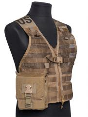 Eagle Industries FSBE M-60 Ammo Pouch, Coyote Brown, surplus. Standard MOLLE/PALS attachment and some extra rows for special needs, for example an FLC.