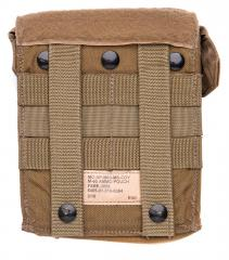 Eagle Industries FSBE M-60 Ammo Pouch, Coyote Brown, surplus. Standard MOLLE/PALS attachment and some extra rows for special needs.